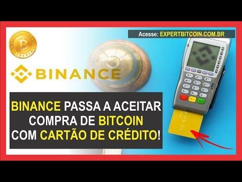 BINANCE PASSA A ACEITAR COMPRA DE BITCOIN COM CARTÃO DE CRÉDITO!