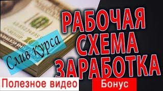 9.5 способов заработка на пасиве, 3000 руб в день слив курса