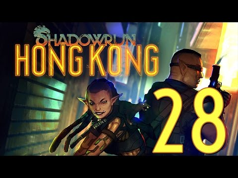 28 - Let's Play Shadowrun Hong Kong Extended Edition - Retribution 1 |