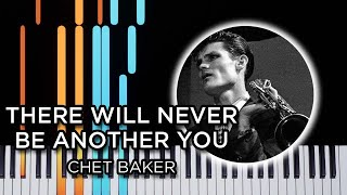 There Will Never Be Another You - jazz piano solo Synthesia tutorial