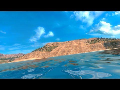 American Truck Simulator - Visiting Big Sur Landslide