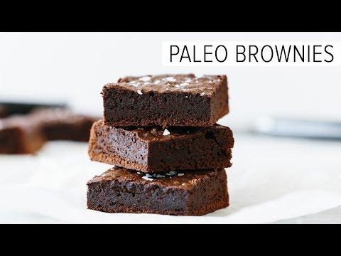 PALEO BROWNIES | fudgy dairy-free & gluten-free brownies