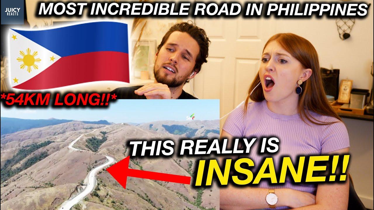 Most UNBELIEVABLE ROAD in the Philippines?! Daang Kalikasan in Pangasinan REACTION