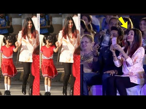 Aishwarya Rai Bachchan so happy and excited for Daughter Aaradhya's performance at School Annual Day