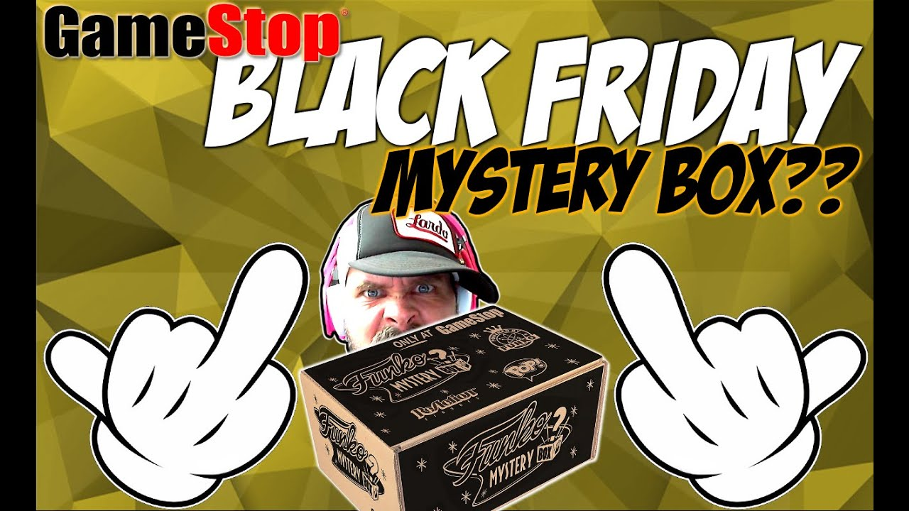 Gamestop Black Friday Funko Pop Mystery Box Mystery Box