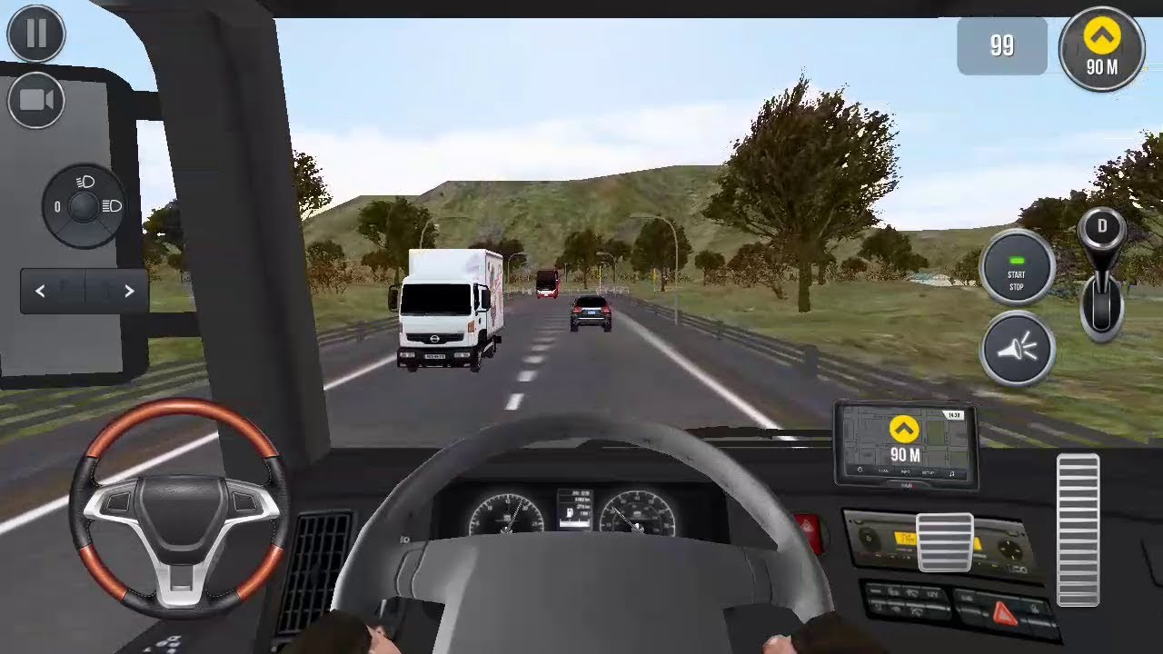 Euro Truck Simulator 2018 Truckers Wanted Android Gameplay Youtube
