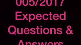 Store keeper psc expected question and answers jan 20 part 1