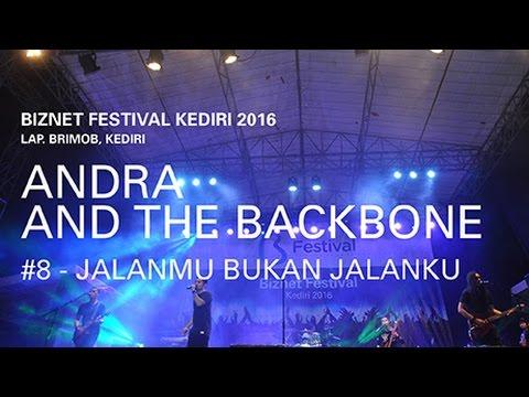 Biznet Festival Kediri 2016 : Andra and The Backbone - Jalanmu Bukan Jalanku
