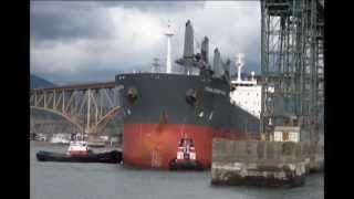 Thalassini Axia In The Port Of Vancouver