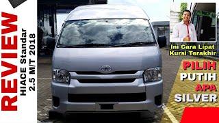 Explorasi Toyota HIACE Standar warna Silver Toyota Indonesia