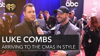 failzoom.com - Luke Combs New Artist of the Year Interview   CMA Red Carpet Interview