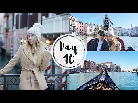 EU TRIP 2017 : My First Gondola Ride ล่องเรือกอนโดล่าที่เวนิส | Katekunya