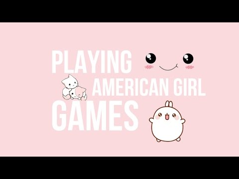 playing american girl doll games youtube. Black Bedroom Furniture Sets. Home Design Ideas