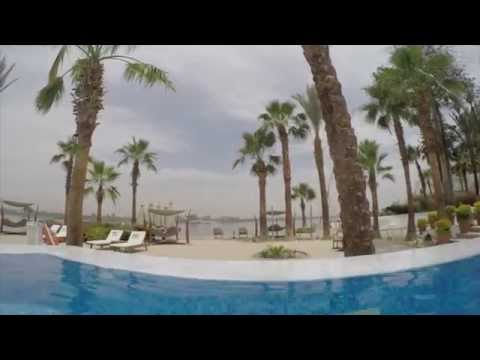 Hilton Luxor Spa & Resort - Incredible Pool Overview and Nile View Room