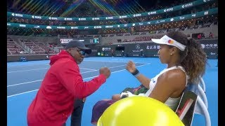"""""""He annoys me so much!"""" - Naomi Osaka On Dad's Coaching! 