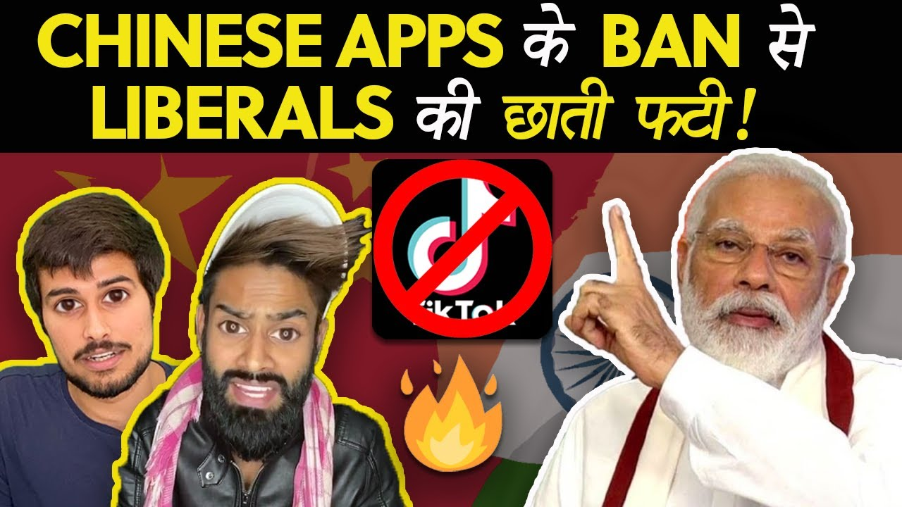 Liberal MELTDOWN After TikTok BAN!   India Bans Chinese Apps