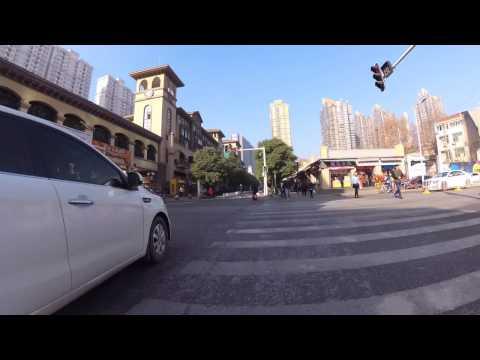 Xiongchu Avenue - Wuhan streets in 4k