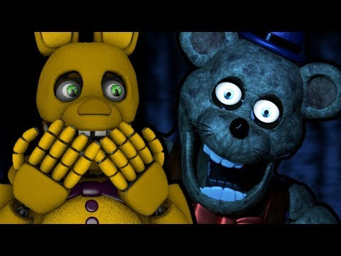 SPRING BONNIE PLAYS: Fredbear's Fright || FREDBEAR'S CREEPY HORROR ATTRACTION!!!