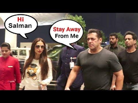 Salman Khan IGNORES Malaika Arora At Airport After She Cheated On Arbaaz Khan With Arjun Kapoor Mp3