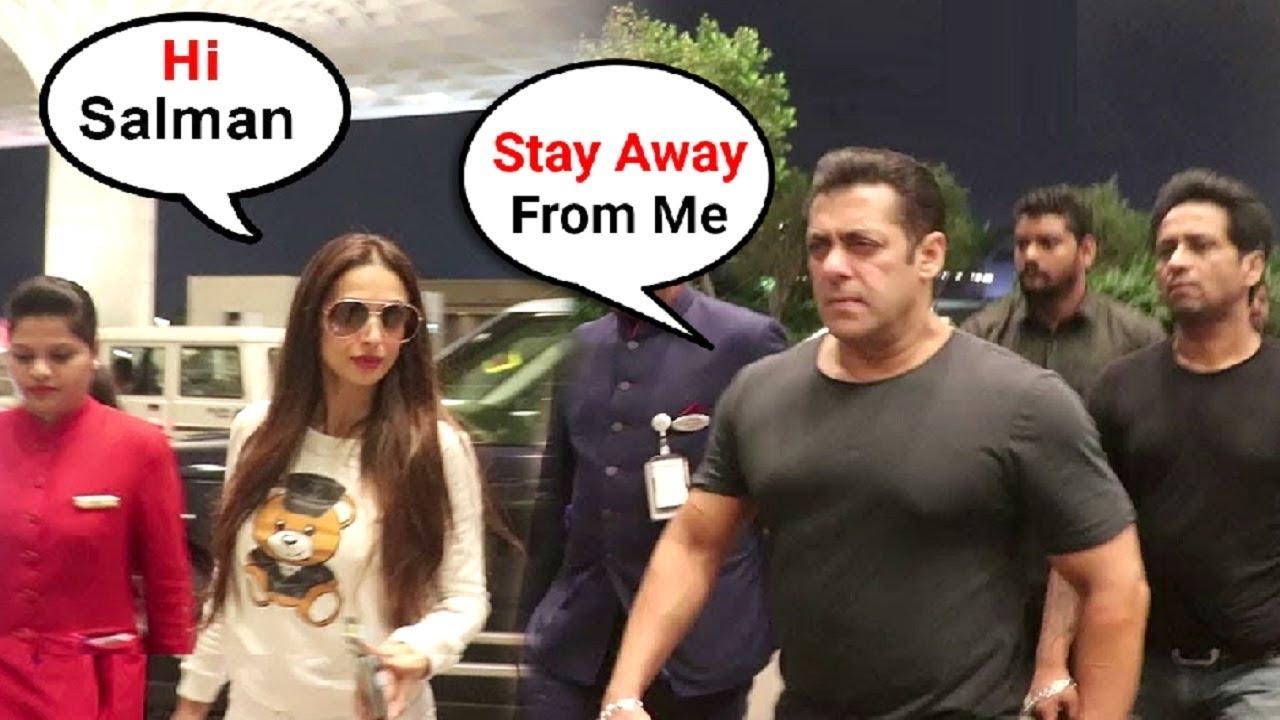 Download Salman Khan & Malaika Arora At Airport After Arbaaz Khan With Arjun Kapoor