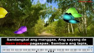 Paru-parong Bukid - Nursery Rhymes | Filipino Folk Song for Children (Karaoke)