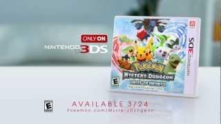 Pokémon Mystery Dungeon: Gates to Infinity TV Spot