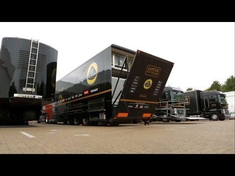 DHL F1 Logistics - Racing in Russia