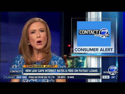 New Law Caps Interest Rates & Fees On Payday Loans