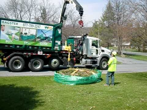 Bagster By Waste Management Pick Up Removal 170 00 Bag