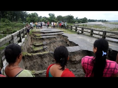 North Bengal hit by flooding and landslides