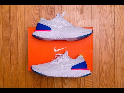 c25988809bf Repeat Is Nike React COMFIER than Boost? || Nike Epic React Flyknit ...