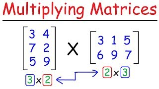 How To Multiply Matŗices - Quick & Easy!