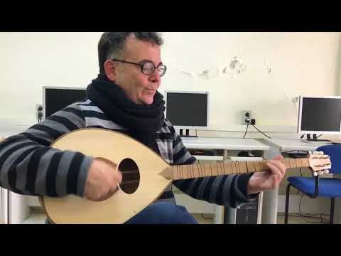 Habib Al Deek's buzuq - Arabic music  Study Oriental Music In Palestine