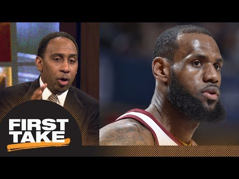 Stephen A. Smith says Miami Heat could be contender for LeBron James | First Take | ESPN