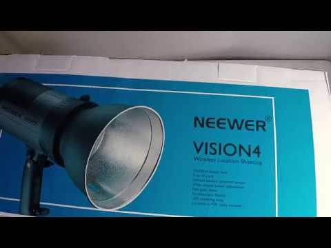 Neewer Battery Powered Outdoor Studio Flash Strobe with 2.4G System