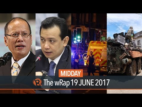 National Democratic Front, Aquino and Trillanes, London attack | Midday wRap