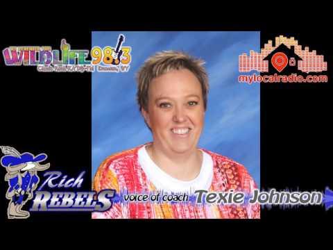Rich Middle School VB coach Texie Johnson 9-22-16