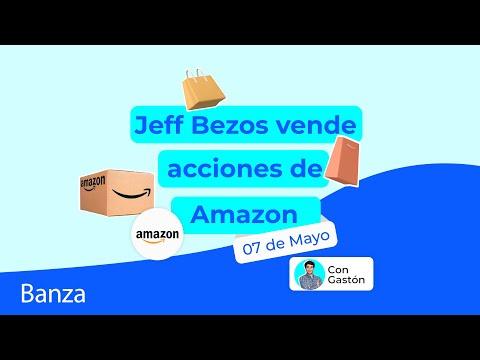 Jeff Bezos vende acciones de Amazon