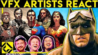 VFX Artists React to SNYDER CUT Justice League Bad & Great CGi