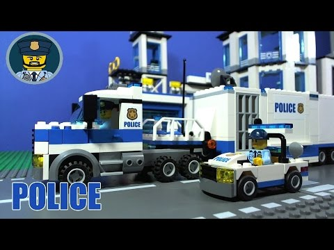 Lego City Police Car Free Youtube
