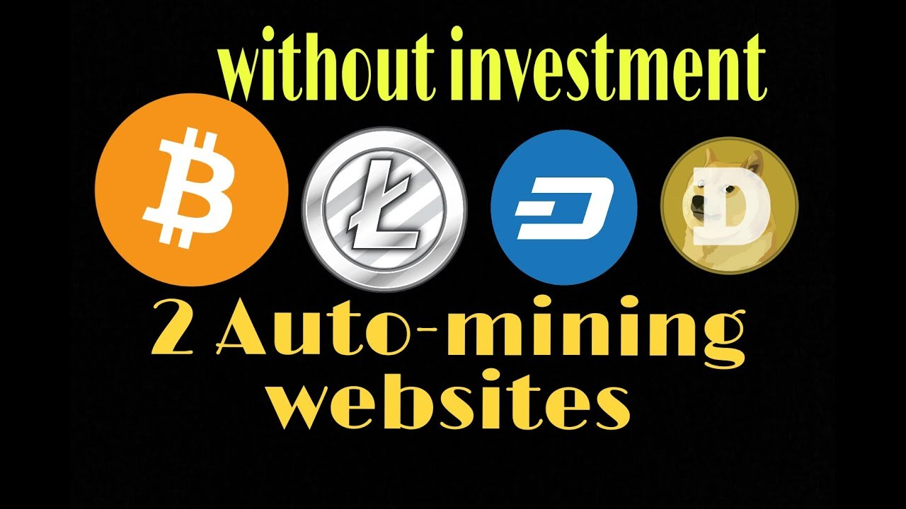 Auto-mining website (without investment) free BTC earn - YouTube