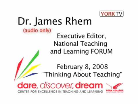 Dr James Rhem at York College