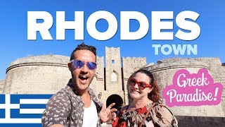 This is RHODES, Greece 🇬🇷 Greece's Best Large Island? Things to do in Rhodes Town.