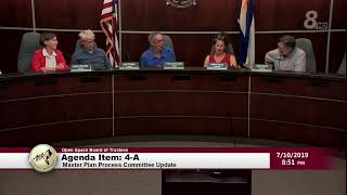 City Of Boulder Open Space Board of Trustee Meeting 7-10-19
