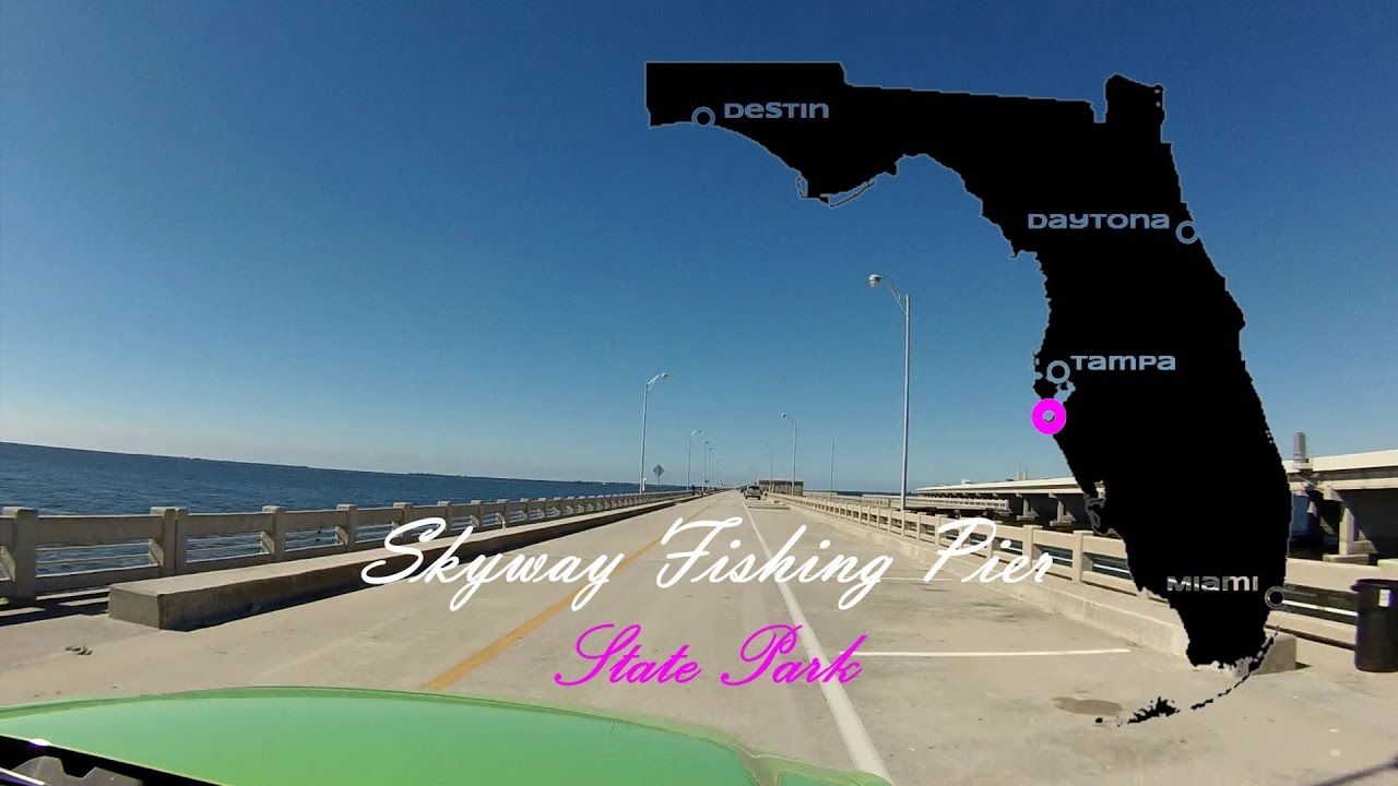 Skyway fishing pier youtube for Skyway fishing report