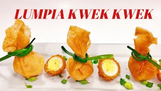 LUMPIA KWEK KWEK | FRIED QUAIL EGGS | KWEK KWEK | FILIPINO STREET FOOD | COOK VOOK