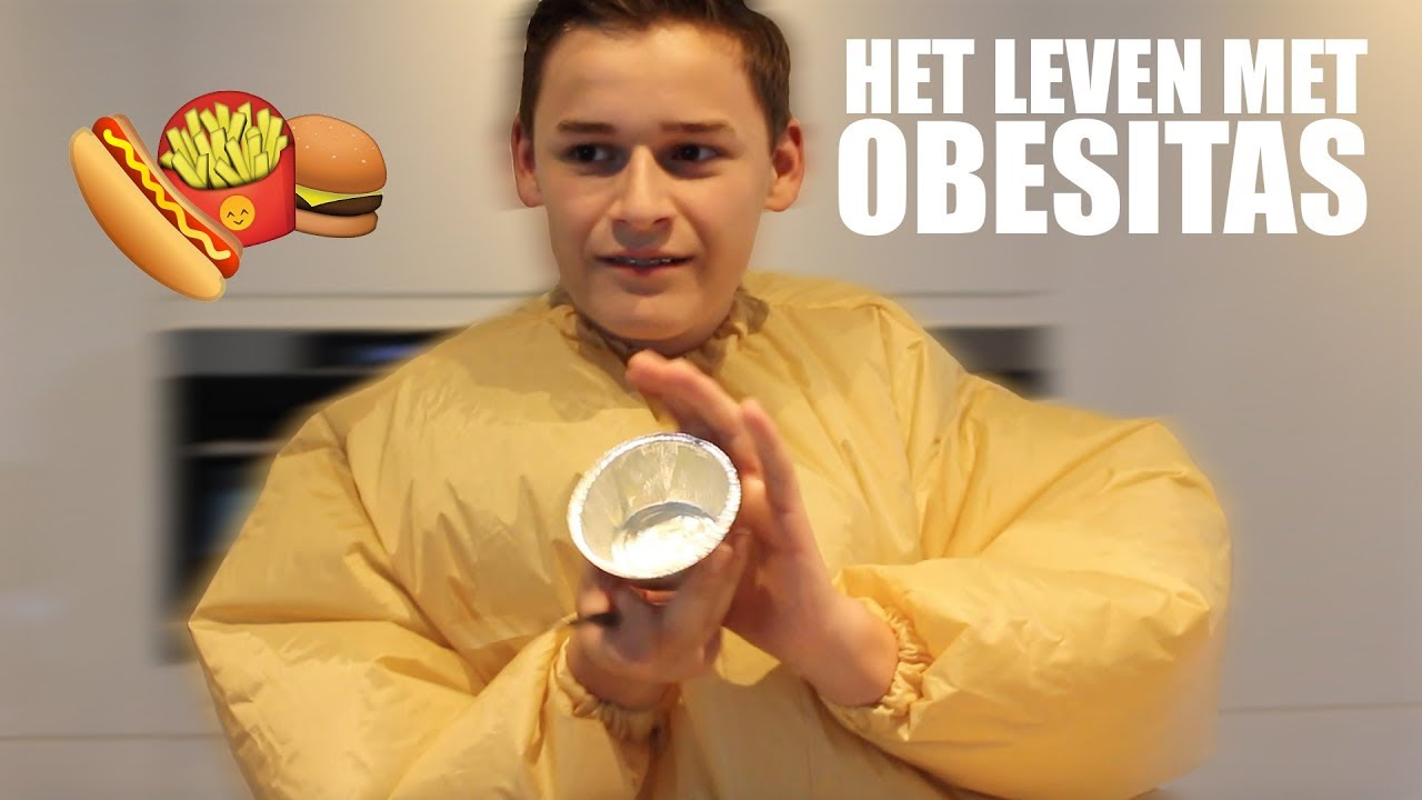 Zo is het om te leven met obesitas! | LARS & KOEN DOEN GEZOND #4