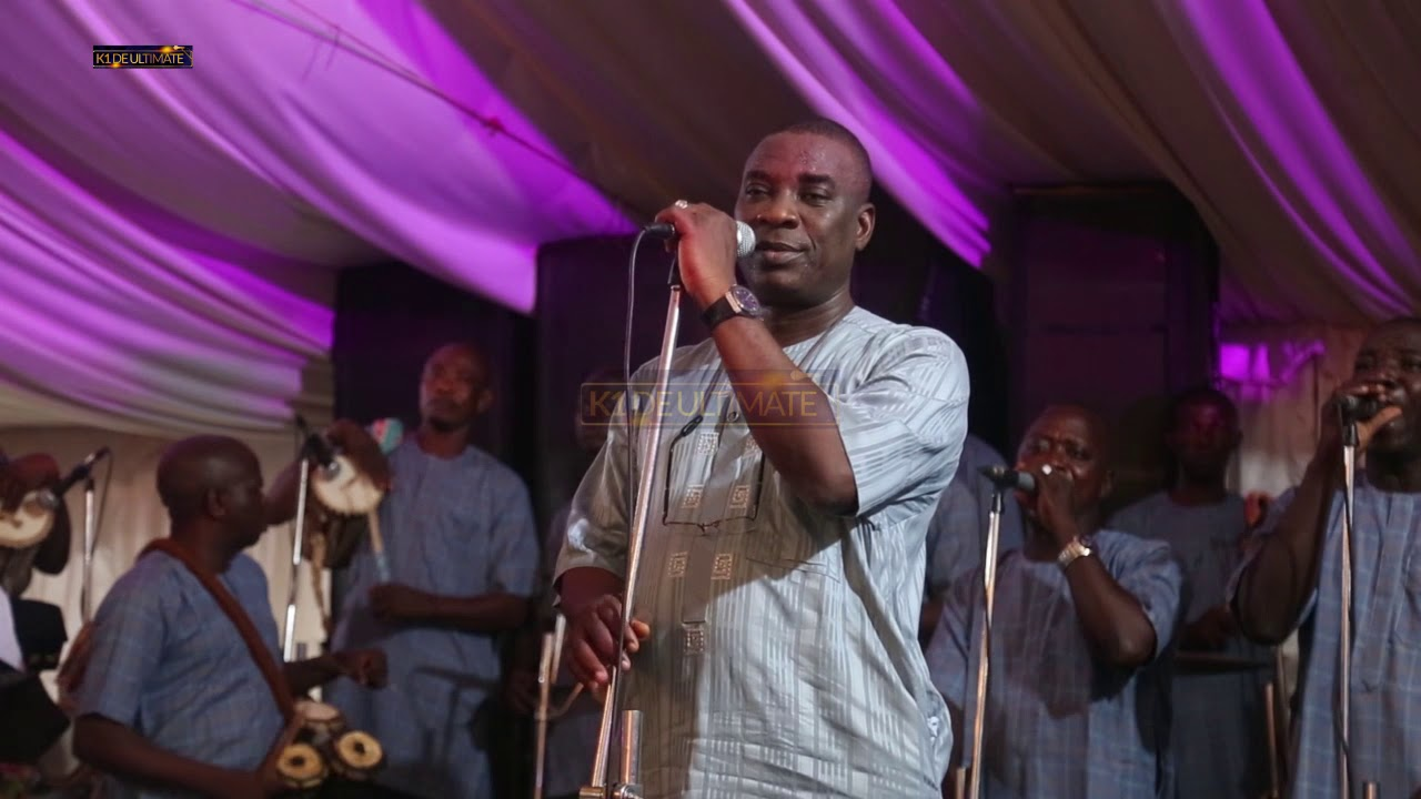 Download K1 DE ULTIMATE'S SPECIAL MOMENT AT GANIYA AND DUROSIMI WEDDING CEREMONY