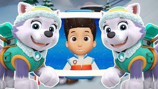 PAW Patrol игра и детские песенки на канале Веселая Акула Щенячий патруль развивающие игры