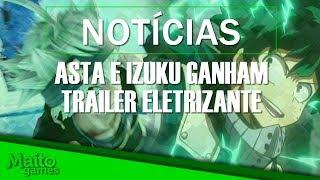 Asta e Izuku Midoriya ganham trailer e BEYOND GOOD AND EVIL 2 com conexão constante